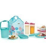 Tupperware Treasures Of The Sea Picnic Collection Hostess Gift Set - £133.53 GBP