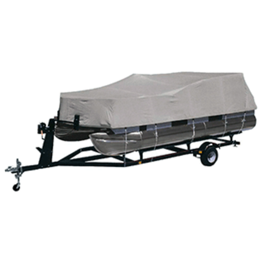 Primary image for Dallas Manufacturing Co. Heavy-Duty 300 D Polyester Pontoon Cover - Fits 17'