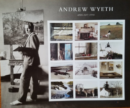 New! 2017 ANDREW WYETH  (USPS)  FOREVER Stamps 12 - $7.95