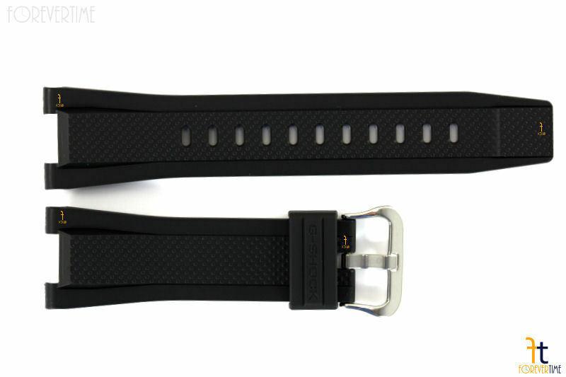 CASIO G-SHOCK G-Steel GST-W100G Original Black Rubber Watch Band GST-W110