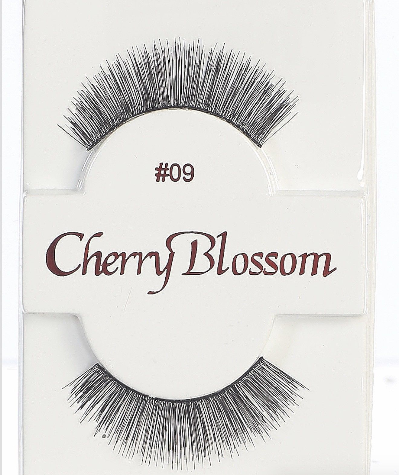 Primary image for CHERRY BLOSSOM EYELASHES MODEL# 09 -100% HUMAN HAIR BLACK 1 PAIR PER PACK