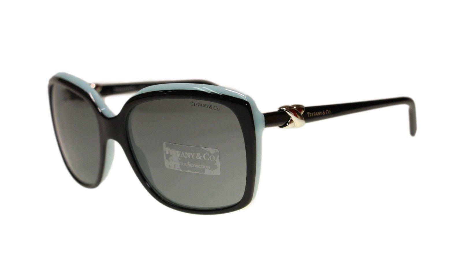 3b47987b5f7f Tiffany TF4076 80553F Top Black Blue Square and 34 similar items