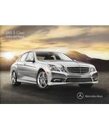 2011 Mercedes-Benz E-CLASS sedan wagon brochure catalog 350 BlueTec 550 ... - $8.00