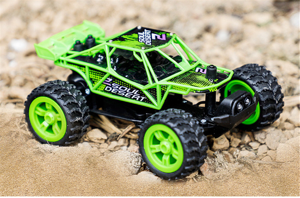 Primary image for 1/32 2.4G RWD Mini Electric RC Car with LED Light Off-Road Vehicles RTR Model