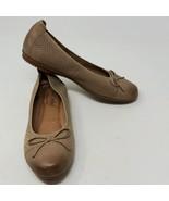 Josef Seibel Pippa Tan Suede Padded Ballet Flats Womens Sz 37 EU 6.5 US ... - $26.68