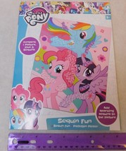 My Little Pony Sequin Fun Art Kid's Craft Kit UK Merchandise/Shipping fr... - $8.00