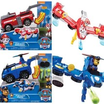Paw Patrol Flip & Fly 2-in-1 Transforming Vehicle Marshall or Chase  YOU CHOOSE - $49.99