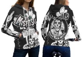 The misfits 3d print hoodies zipper hot sale long sleeve  hoodie sweatshirt thumb200