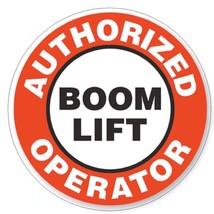 Authorized Boom Lift Operator Hard Hat Decal Hard Hat Sticker Helmet Saf... - $1.79+