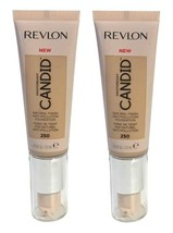 Lot of 2, Revlon PhotoReady Candid Anti-Pollution Foundation 250 Vanilla - $10.49