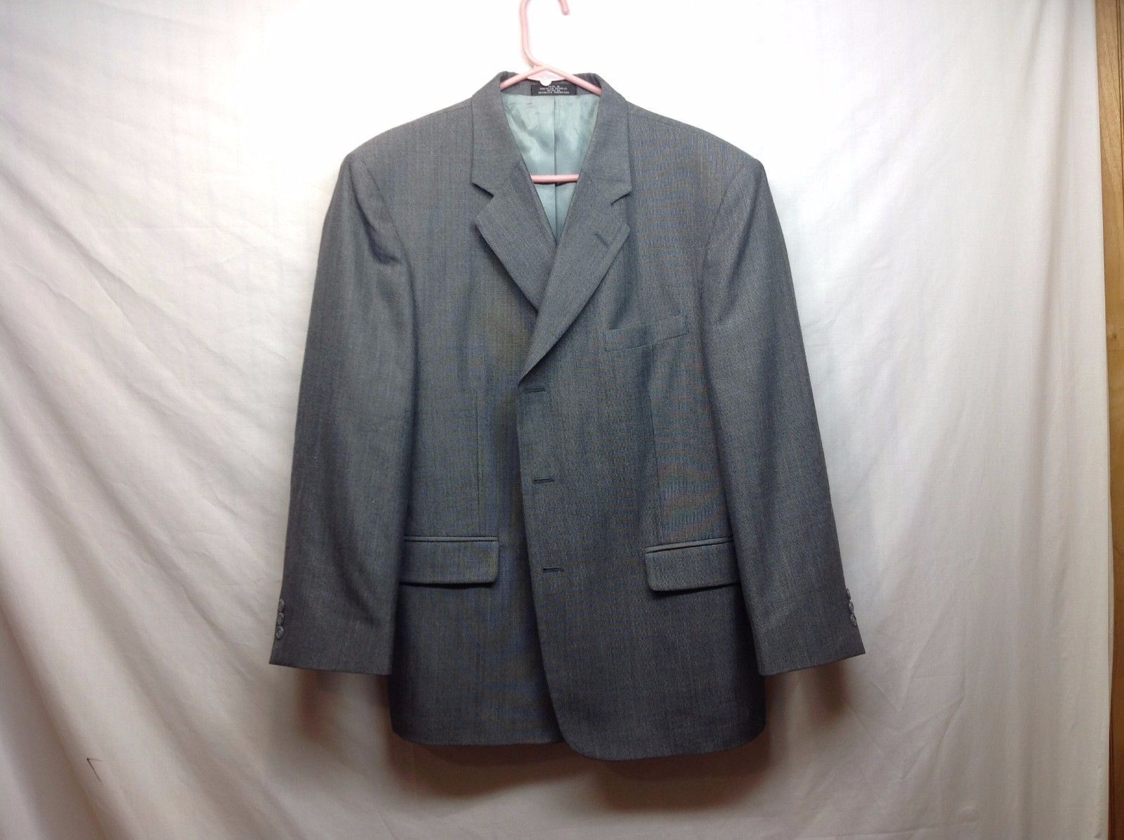 Mens Gray Suit Blazer by Barrington