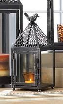 Small 10'' Tall Bird cage Candle Holder Lantern Lamp Garden Outdoor Terr... - $43.55