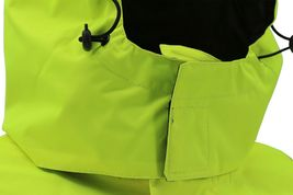 Men's Class 3 Safety High Visibility Water Resistant Reflective Neon Work Jacket image 12