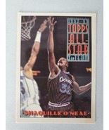 Shaquille O'Neal ~ 1993 Topps #134 ~ ALL STAR ~ Single Basketball Trading Card - £0.68 GBP