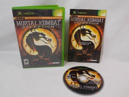 Xbox Mortal Kombat Deception 2004 Complete with Disc Manual & Case - $12.86