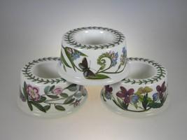Portmeirion Botanic Garden Egg Cups or Candleho... - $30.81
