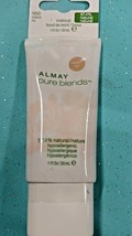 Almay Pure Blends Face Foundation Natural Fragrance-Free Makeup 160 NAKED 1oz - $7.84