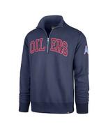 NFL Houston Oilers Men's Retro Striker Jacket  Embroidered 3XL Zip Fleece - $94.05