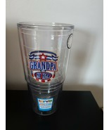 Grandpa Is My Hero Tervis Tumbler Cup 24 Ounce Insulated Keeps Drinks Ho... - $19.75