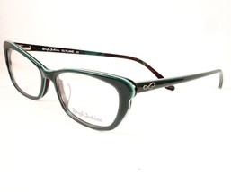 Rough Justice Eyeglasses Flame Green Women New 52-16-140 - $89.09