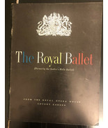 Program - The Royal Ballet (formerly the Sadler's Wells Ballet) 1957 - $14.85