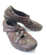Skechers Mary Jane Bikers Shoe Women's Sz 9 Med Toffey Brown Leather/Syn (sb8) - $24.99