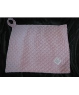 """Baby Girl Pink Chenille Magic Minky Dot Security Blanket Lovey Loop 17"""" x 14"""" - $39.59"""