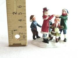"Christmas Village Figurine Girl Boy Children Playing London Bridge 2.25"" - $9.99"