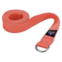 Veda Yoga Strap 8ft - Pilates, Exercise, Stretching - Durable Cotton - $212,97 MXN