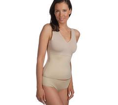 SPANX Hide & Sleek Smoothing Shapewear V-neck Camisole & Panty Set QVC A... - $59.99
