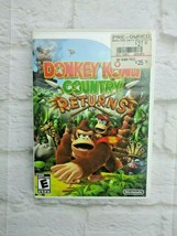 Donkey Kong Country Returns (Nintendo Wii, 2010) No Manual Tested Works - $13.85