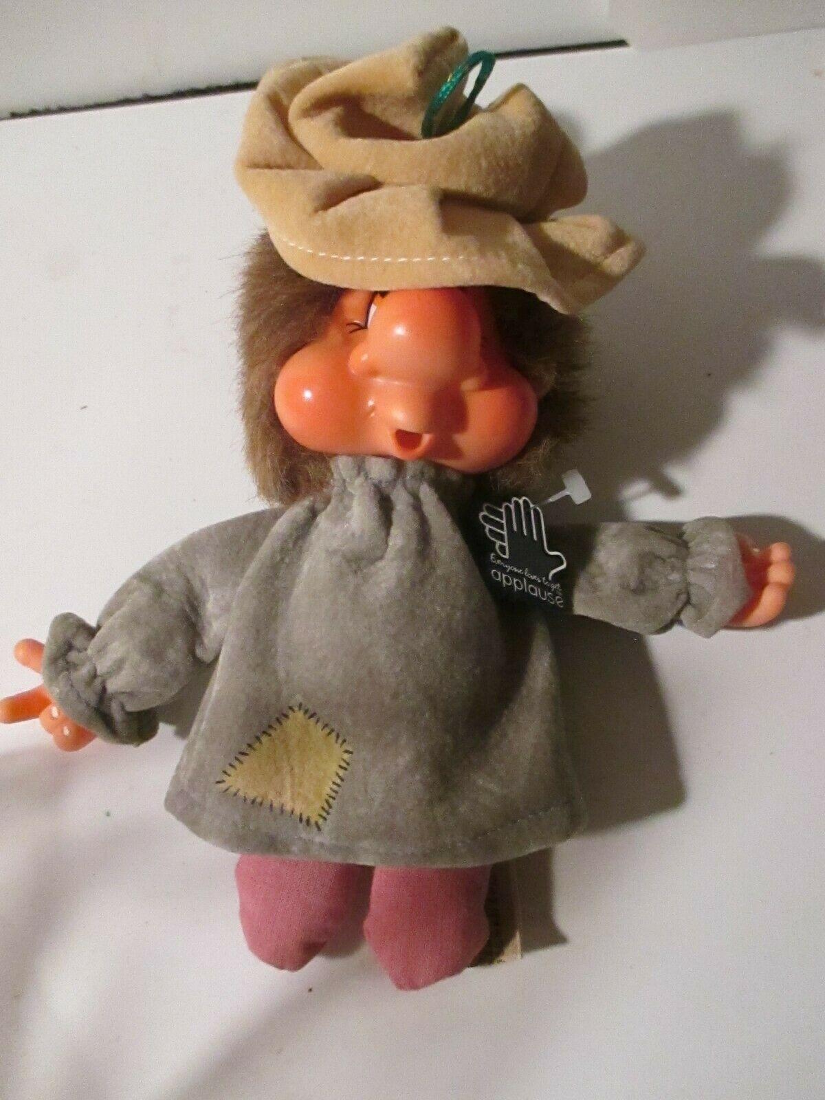 "Vintage APPLAUSE 1982 ""WADSWORTH HOBO"" DOLL / Ornament  image 3"