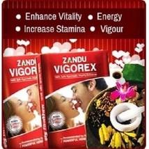 Zandu Vigorex 10 Capsules   Ayurvedic   Increases Sexual Stamina & Perfo... - $23.70