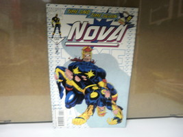 L4 Marvel Comic Nova Issue #7 July 1994 In Good Condition - £5.35 GBP