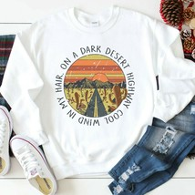 Eagles Rock Band On a Dark Desert Highway Graphic Sweatshirt Casual Unis... - $32.99