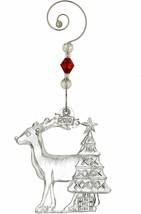 Waterford Crystal 2010 Christmas Wonders, Reindeer with Christmas Tree IRELAND  - $54.44