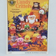 Candy Critters Kid Animals 1071 1993 VBS Crafts Christmas Party Favors - $9.99