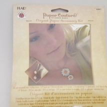 Paper Couture's Elegant Paper Jewelry Accessories Kit Flower Design - $11.64