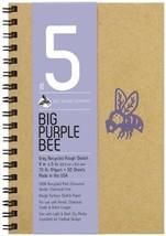 Bee Paper Company BEE-206CB50-609 Big Purple Bee Drawing Pad, 9 by 6-Inc... - $14.91