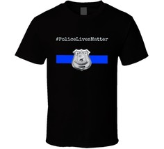 Police Lives Matter Police T Shirt Unisex Clothing Cop Law Enforcement Tee Top - $13.83+