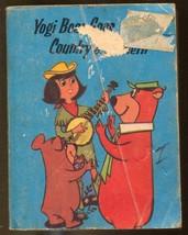 Yogi bear Goes Country & Western  1977-Big Little Book-Hanna Barbera-G- - $31.53