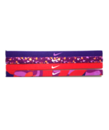 NEW Nike Girl`s Assorted All Sports Headbands 4 Pack Multi-Color #5 - $20.00
