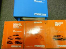 1997 Mazda Mpv Van Service Repair Shop Manual Set Oem Factory Books 97 X - $257.35