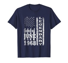 Dad Shirts - Legendary Since June 1968 Shirt 50th Birthday Gifts USA Fla... - $19.95+