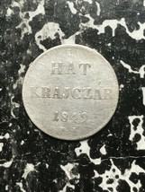 1849-nb Ungarn 6 Krajczar Menge #L2405 Silber - $18.66