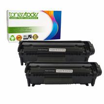 2 pk Q2612A 12A Black Toner Cartridge For HP LaserJet 3055, M1319 MFP - $17.99
