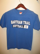 Bartram Trace Lycée st Johns Florida Rétro Champion Softball T-Shirt S M - $26.60