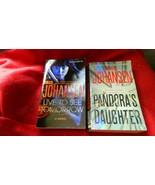 IRIS JOHANSEN PANDORA'S DAUGHTER & LIVE TO SEE TOMORROW 2 PB LOT FREE US... - $7.69