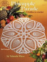 5x Pineapple Shell Webs Star Fans Hearts Grandma's Crochet Doily Patterns - $11.99