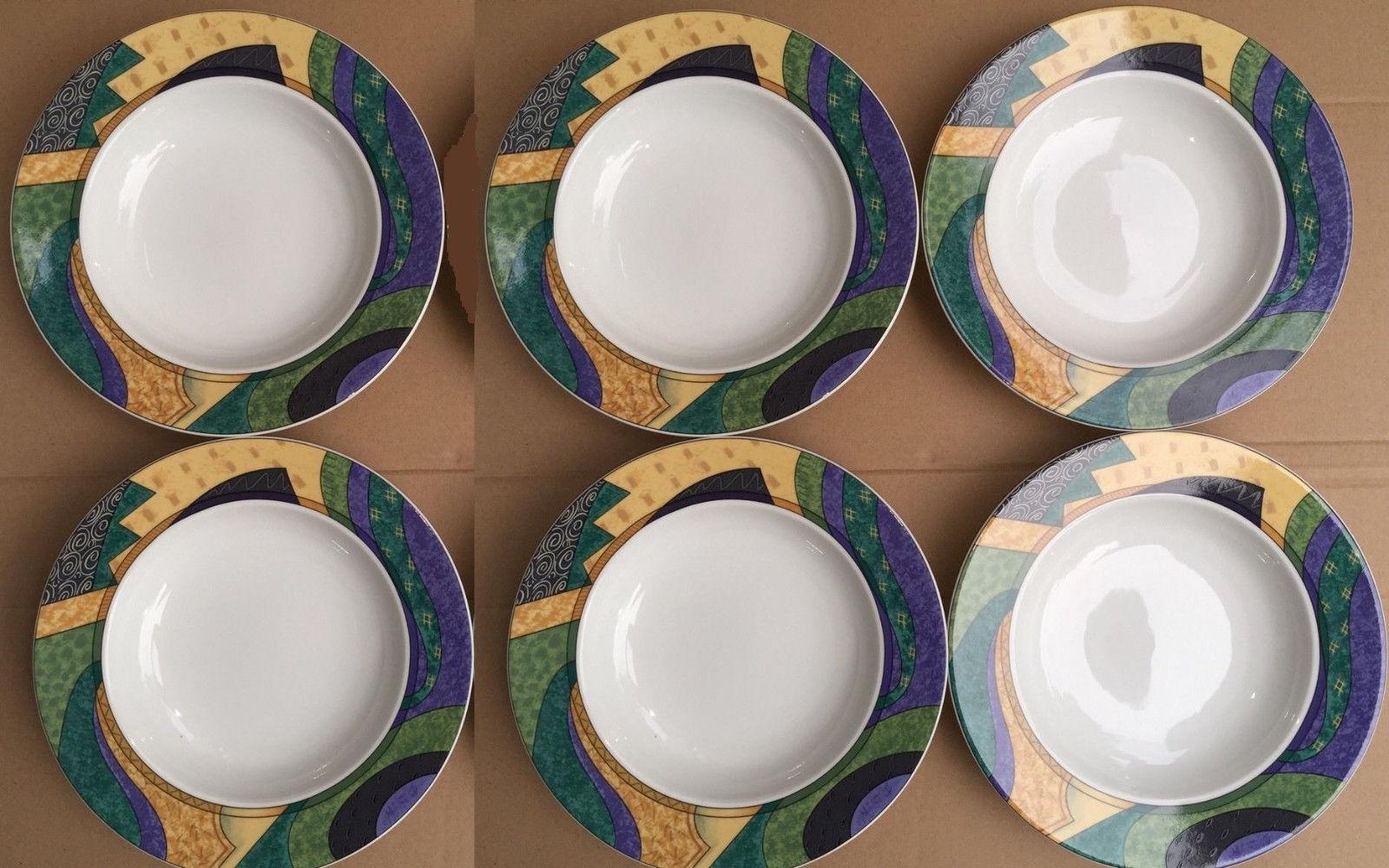 Set of 6 Studio Nova Concepts Y0254 Rim Soup Pasta Bowls Geometric Design ST816 - $43.37 · Advanced search for Studio Nova China & Studio Nova China: 29 listings